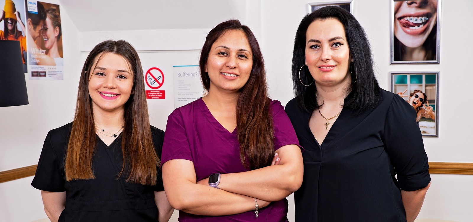 Dental treatments with Allure Team